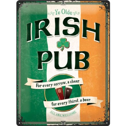 Irish Pub Sign- 3D  Metal Wall Sign